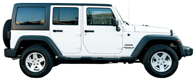 Jeep Wrangler Unlimited 2012 サイド
