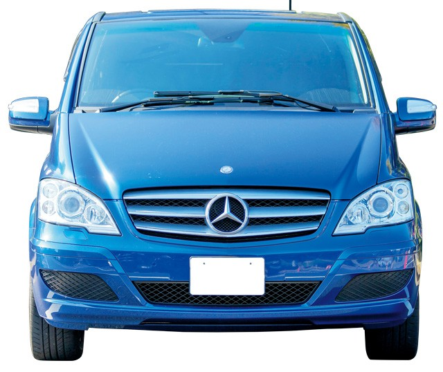Mercedes Benz V Class フロント
