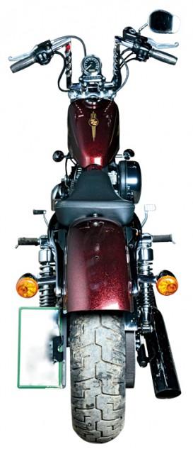HARLEY DAVIDSON XL1200V 72