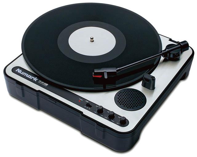 ITEM レコードプレイヤー BRAND Numark MODEL PT01 USB