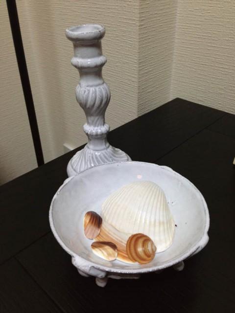 Astier de Villatteの燭台&ボウル