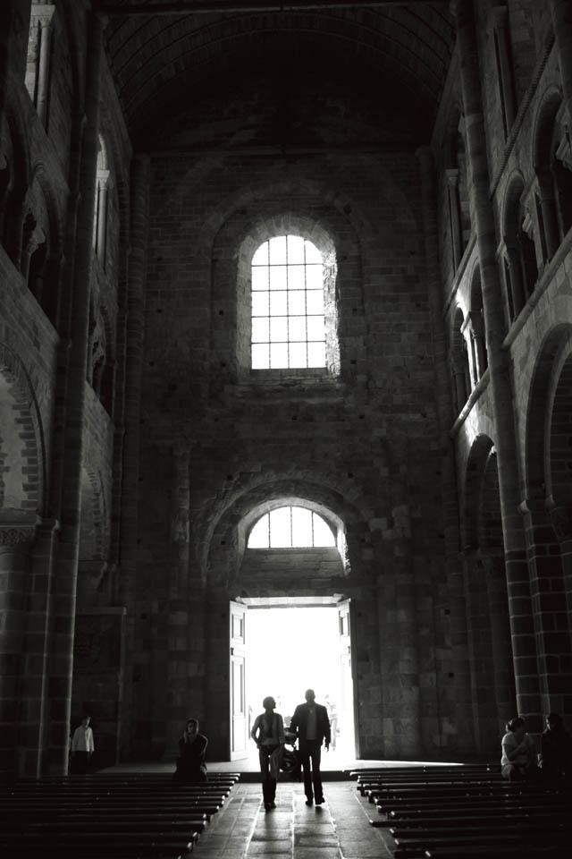 モンサンミッシェルの内部を散策している時に撮影した1枚  Photo by.姉川輝天