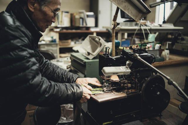 RX1Rで仕事の資料用に撮影した取引先の岡山のミシン屋さん。 Photo by.石川俊介
