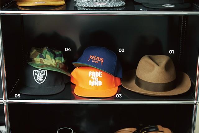 オオスミタケシの帽子コレクション