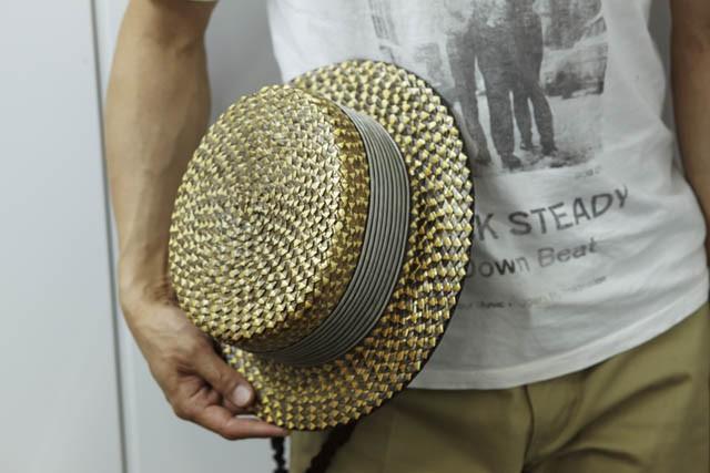 VINTAGEのカンカン帽