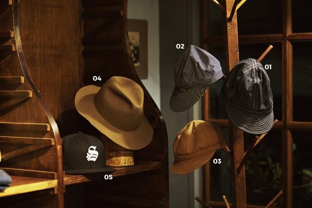 宇田川和利愛用の帽子