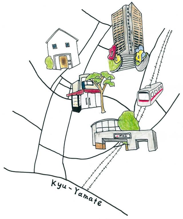 Shopping  Map 01 代官山エリア