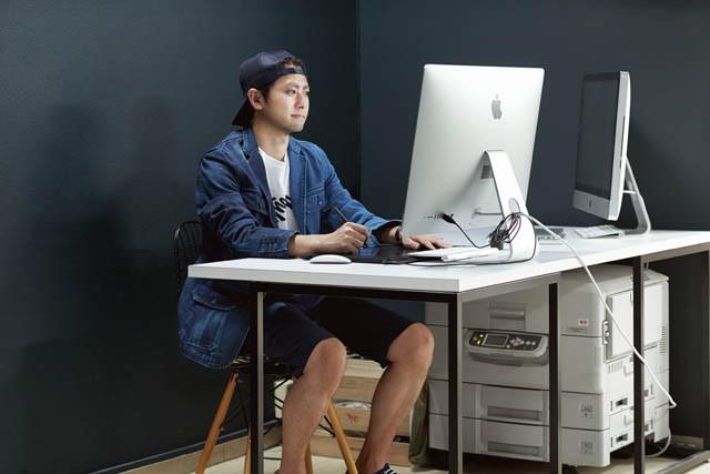 アートディレクター/グラフィックデザイナー押見健太郎