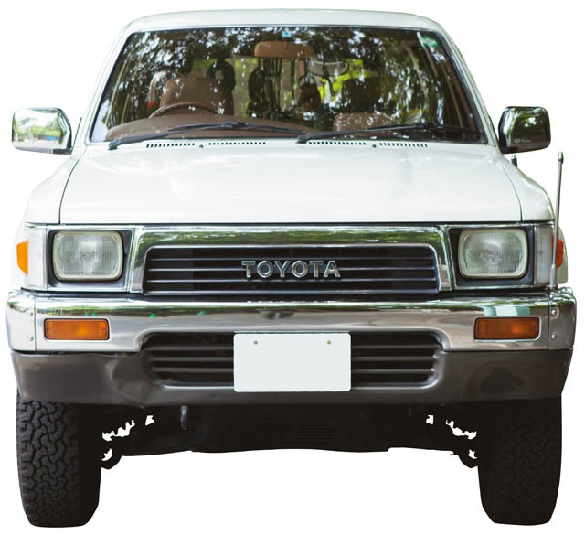 FRONT.TOYOTA HILUX SURF 2.0 SSR LIMITED