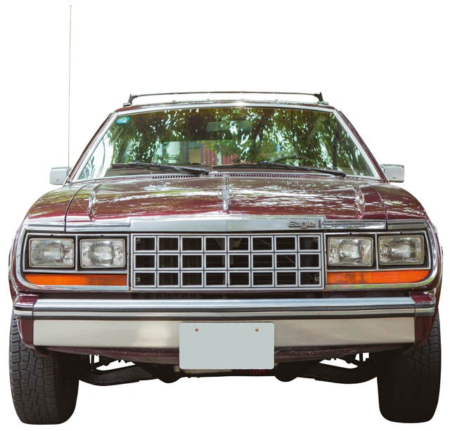 FRONT.AMC EAGLE WAGON