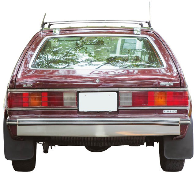BACK.AMC EAGLE WAGON
