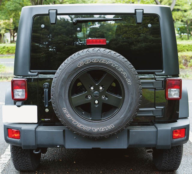 BACK.Chrysler Jeep Wrangler Unlimited Sport