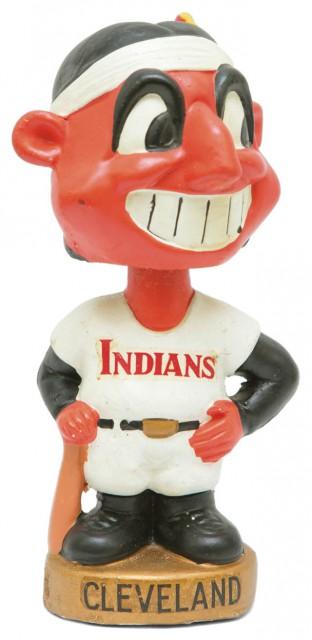 INDIANS Bobble Head