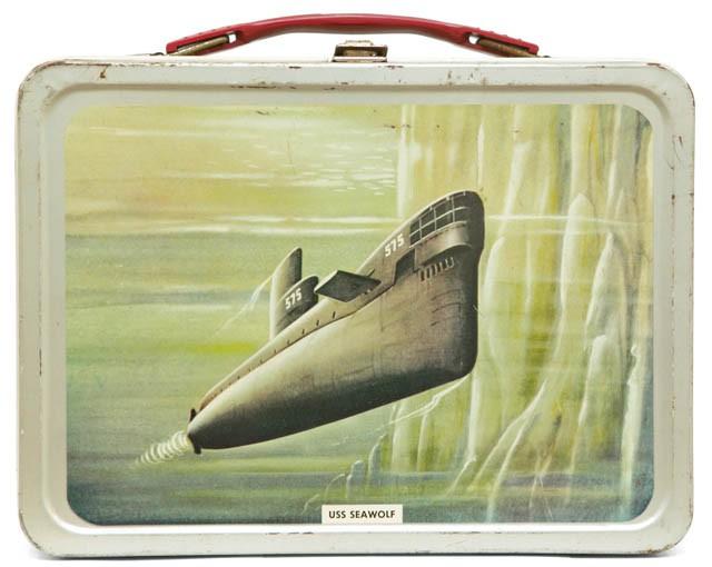 ITEM Vintage Lunch Box USS SEAWOLF