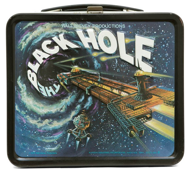 ITEM Vintage Lunch Box   THE BLACK HOLE