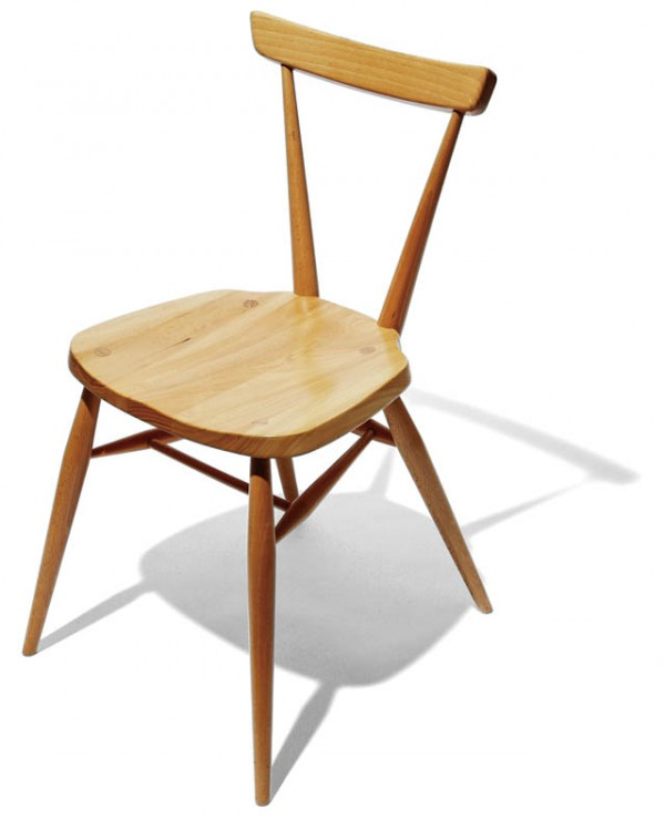 BRAND ercol ITEM STACKING CHAIR