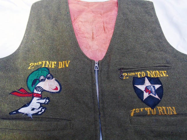 KOREA WAR SOUVENIR JACKET