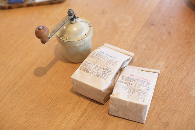 コーヒー豆&ミル