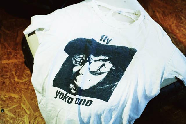 BRAND  YOKO ONO ITEM  T SHIRTS