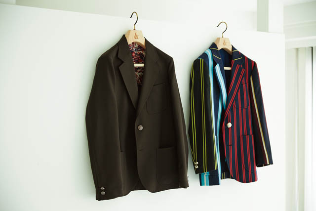BRAND  The Stylist Japan [RIGHT] ITEM  JACKET BRAND  The  Stylist Japan×  TENDERLOIN [LEFT] ITEM  JACKET