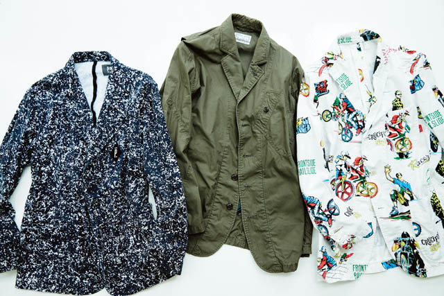 BRAND  WTAPS [RIGHT] ITEM  JACKET BRAND  NEXUSVII [CENTER] ITEM  JACKET BRAND  PIGALLE [LEFT] ITEM  JACKET