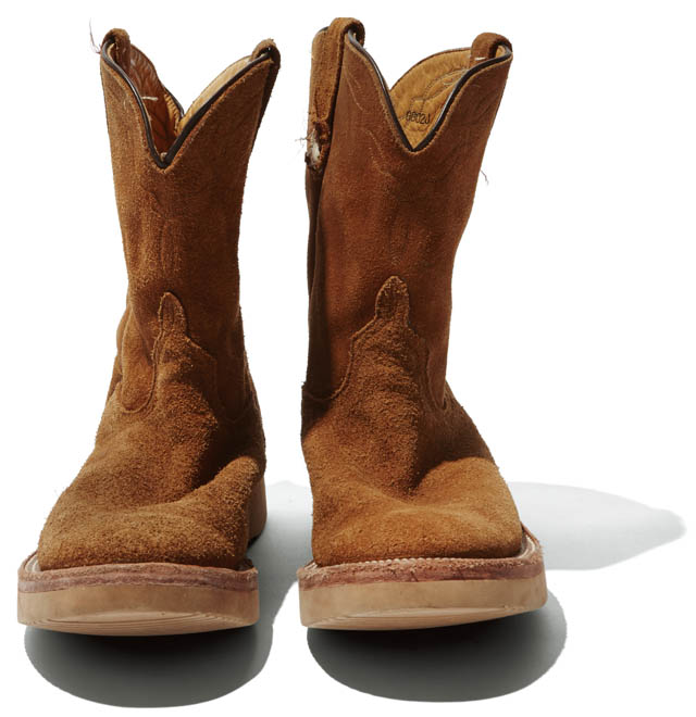 BRAND  ANDERSON BEAN ITEM  WESTERN BOOTS