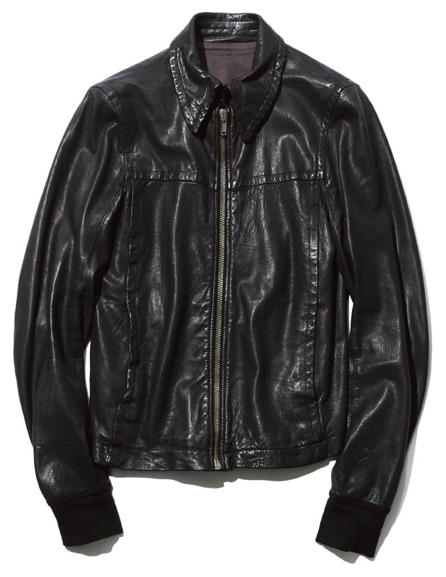 BRAND  RICK OWENS ITEM  LEATHER JACKET