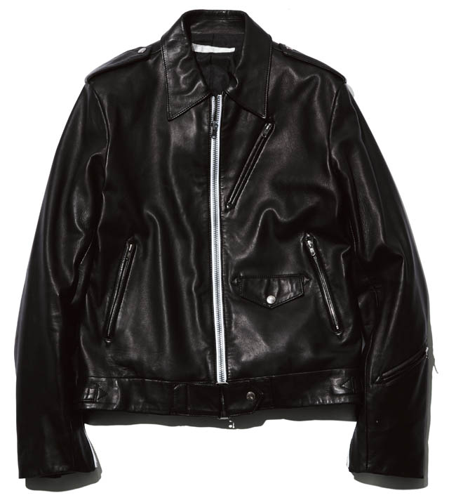BRAND  NUMBER (N)INE ITEM  RIDERS JACKET