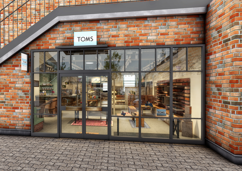 TOMS新店外観