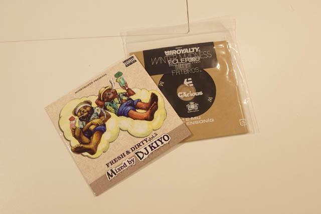 "DJ KIYOのMIX CD""FRESH & DIRTY vol.2""、""WINTER MADNESS"""