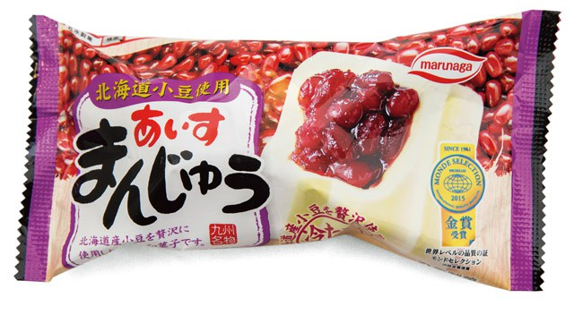 丸永製菓のまんじゅうあいす