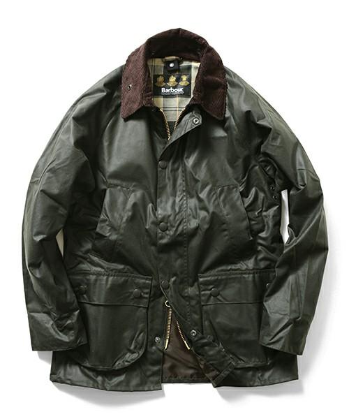 バブアーのオイルジャケット