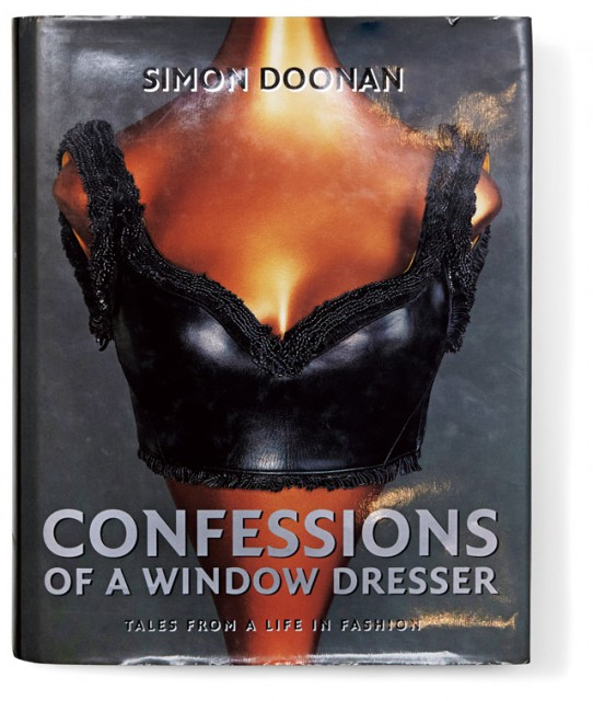 SIMON DOONAN「Confessions of a Window Dresser」  (Studio 1998)