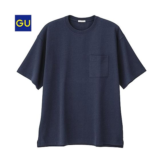 GU ヘビーウェイトビッグT(半袖)