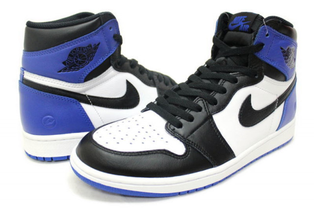 fragment design × NIKE AIR JORDAN 1 RETRO