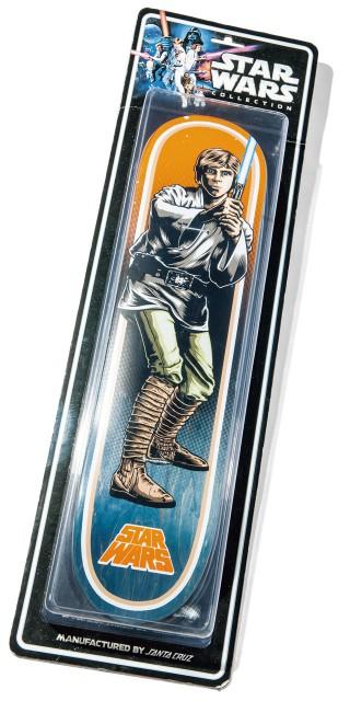 SANTA CRUZ× STAR WARSの ルーク・スカイウォーカーの スケートデッキ