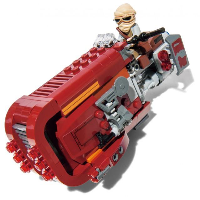 レイのスピーダーの LEGOブロック