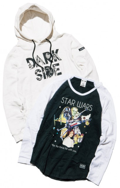 X girl STAR WARS  COLLECTIONの パーカ&Tシャツ