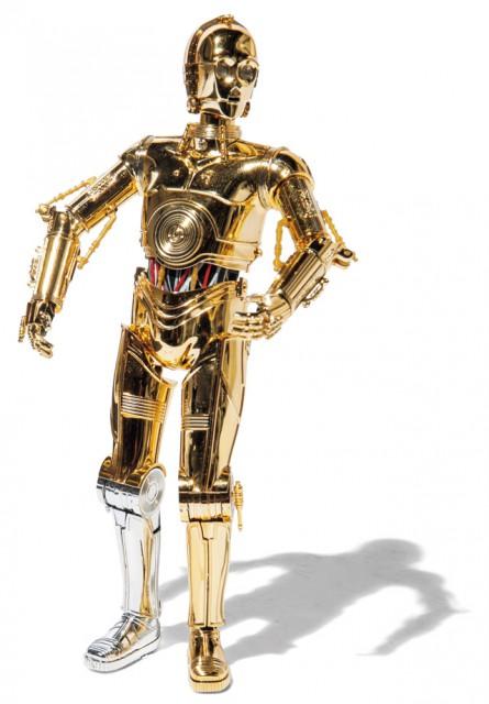 C 3POのプラモデル