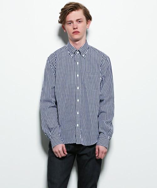 SOPHNET.のチェックシャツ
