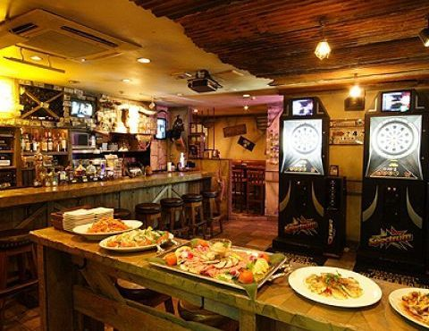 Mexican Bar LOS CABOS 店内