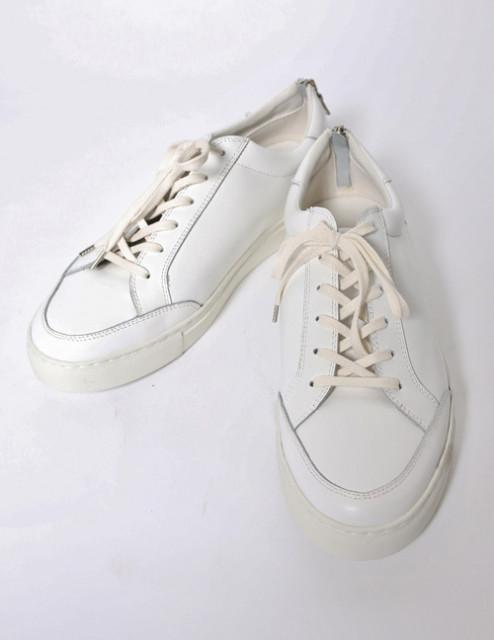 秋メンズファッション おすすめスニーカー wjk low cut sneaker