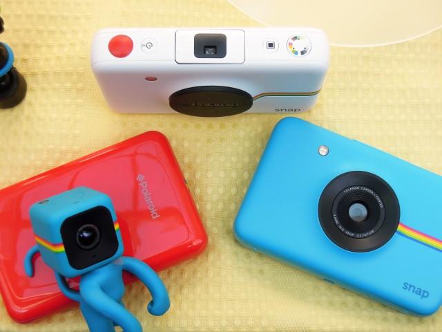 世界コスプレサミットにブース出展したPolaroidカメラシリーズ