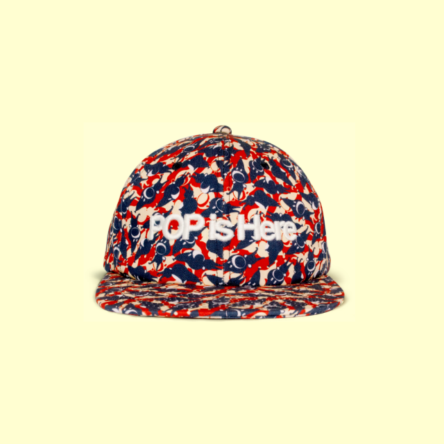 PATTERNED ALL OVER SNAPBACK CAP Play