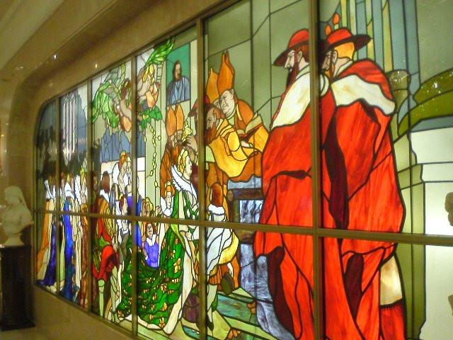 美術・芸術が観賞できる宿ランキング 江陽グランドホテル ステンドグラス