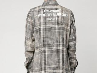 offwhite チェックシャツ