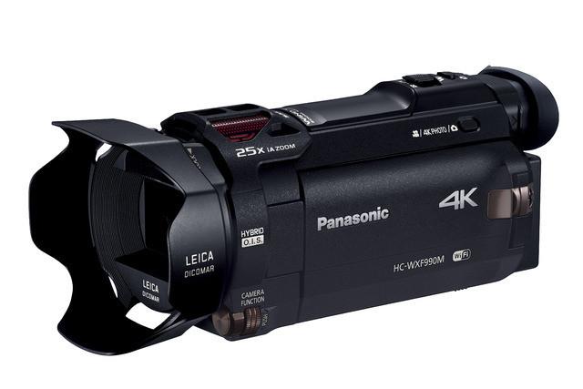 4K 60fps カメラ Panasonic WXF990M