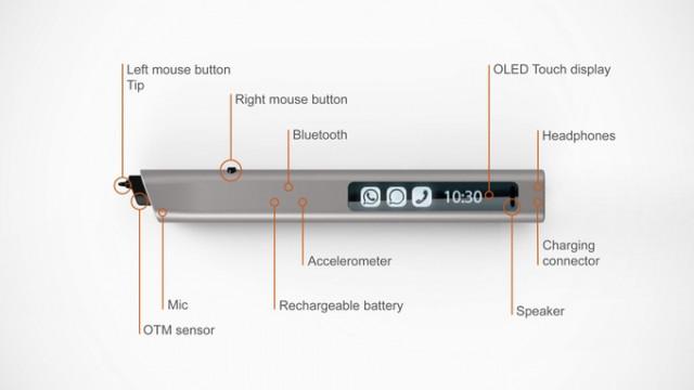 レーザーセンサー搭載スマートペンPhree(フリー)