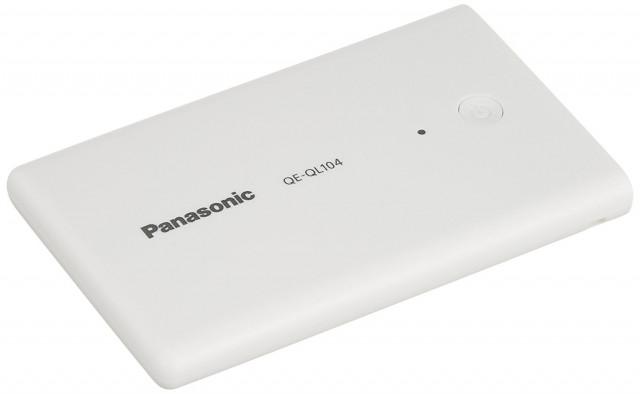 パナソニック モバイルバッテリー QE QL104 2,420mAh