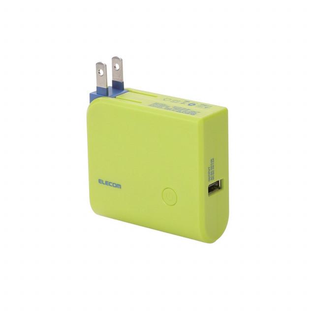 エレコム モバイルバッテリー DE MB1L 3220 3,200mAh
